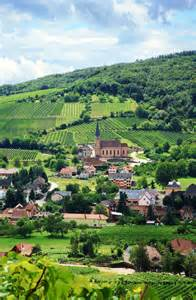 Small Village in Alsace France