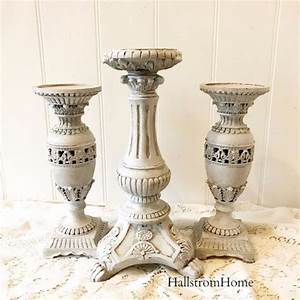 25 best ideas about rustic french on pinterest cottage With kitchen colors with white cabinets with candle holder vase centerpiece