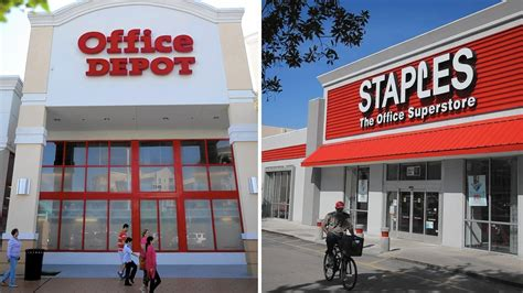 Office Depot Staples by Staples Merger Doubts After Sysco Ruling Officesuppliesblog