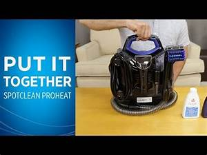 Spotclean Proheat Portable Carpet Cleaner 5207f