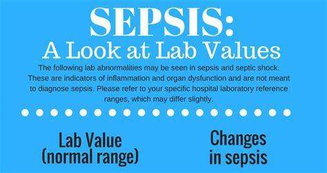 sepsis handout  nurses sepsis    lab values