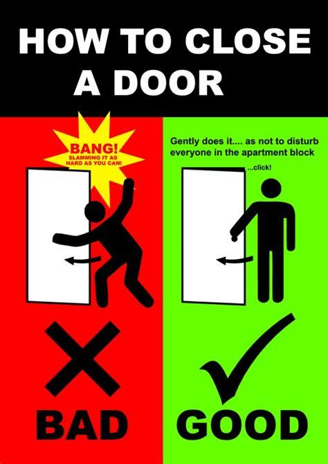 How To Close A Door Pdfsrcom