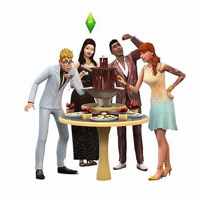 Sims Render Luxury Pack Stuff Glamurosa Fiesta