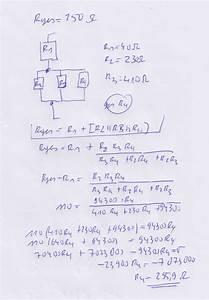 Gemischte Schaltung Berechnen : widerstandswert r4 berechnen gemischte schaltung nanolounge ~ Themetempest.com Abrechnung