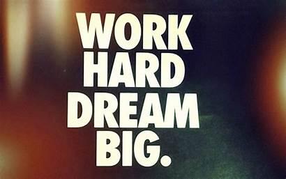 Short Inspirational Quotes Hard Dream Journey