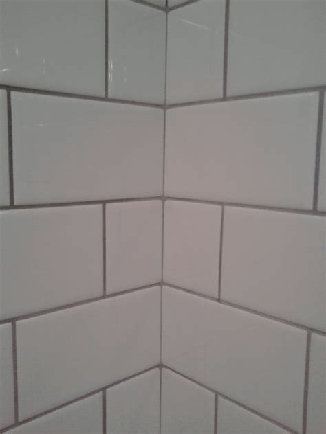 large subway tiles fresh large subway tile in bathroom 7964