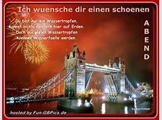 Schoenen Abend Gaestebuchbild Facebook BilderGB Bilder