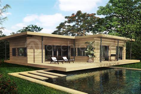 Plan Canapã Bois Davaus Plan Maison Bois Moderne Gratuit Avec Des