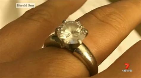 Puppy Swallows $50,000 Engagement Ring  Yahoo7. Light Wedding Rings. Crochet Rings. Polish Wedding Rings. Wedding Rings. Tungsten Carbide Rings. Telugu Engagement Rings. Wedding Vera Wang Wedding Rings. Thunderfit Rings
