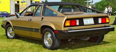 Lancia Scorpion - Gold - Rear Angle