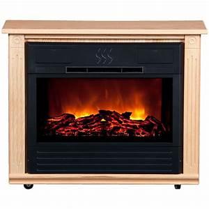 Heat Surge U00ae Roll - N - Glow U00ae Electric Fireplace