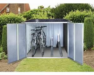 Fahrradgarage 4 Fahrräder : fahrradbox tepro f r 4 fahrr der 191 6x191 6 cm anthrazit bei hornbach kaufen ~ Buech-reservation.com Haus und Dekorationen