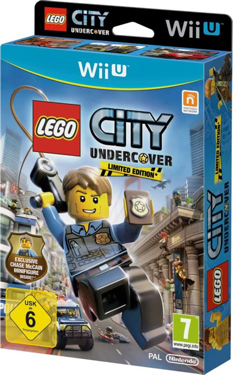 lego city undercover limited edition  chase mccain