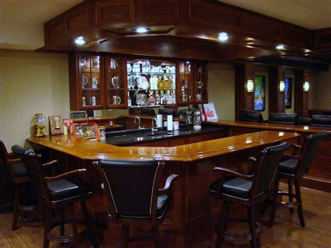 Basement Bar by Bars And Kitchens Image Gallery