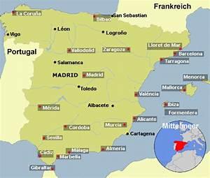 Klima Klimadiagramm Spanien