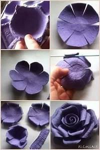 Comment Faire Une Rose En Papier Facilement : comment recycler une bo te d 39 oeufs un diy d co pour ~ Nature-et-papiers.com Idées de Décoration