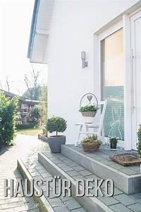 Eingangsbereich Außen Dekorieren : verliebt in zuhause haust r deko ideen zu ostern f r den eingangsbereich ~ Buech-reservation.com Haus und Dekorationen