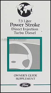 ford powerstroke  diesel engine owner manual