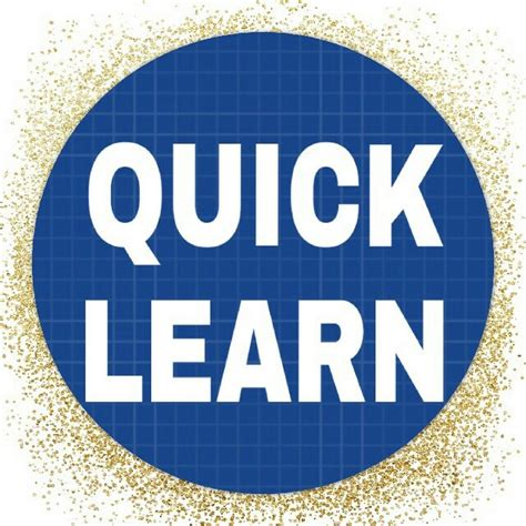 QUICK LEARN - YouTube