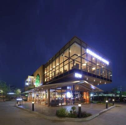 Starbucks Food Villa in Bangkok   e architect