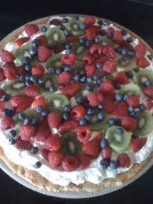 Cream Cheese Fruit Pizza Recipe