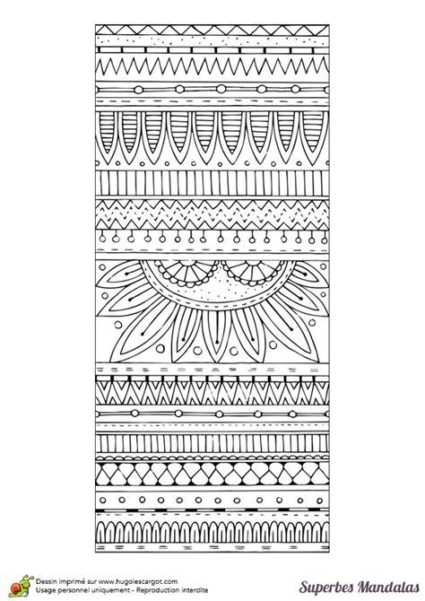 coloriage dun superbe mandala rectangulaire avec des