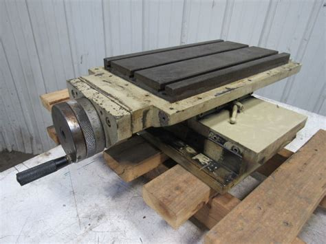 compound   axis indexing  bed plate drill mill