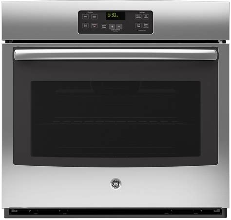 general electric jtsfss   built  single wall oven stainless steel