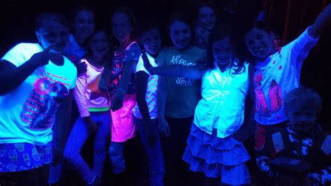 black light glow party free glow in the dark dance party for kids presented by