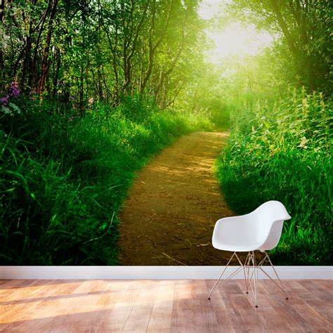 nature murals for walls nature s path wall mural