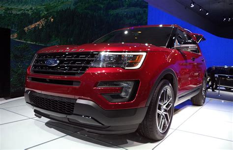 2016 Ford Explorer With Secret Mustang Specs