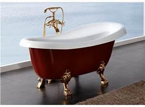 Baignoire Pas Cher : baignoire sur pied pas cher abdeckung ablauf dusche ~ Melissatoandfro.com Idées de Décoration