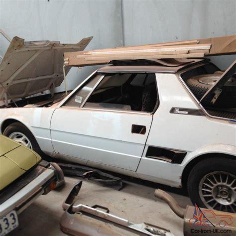 Fiat X19 Parts by Fiat X19 Parts Uk The Fiat Car