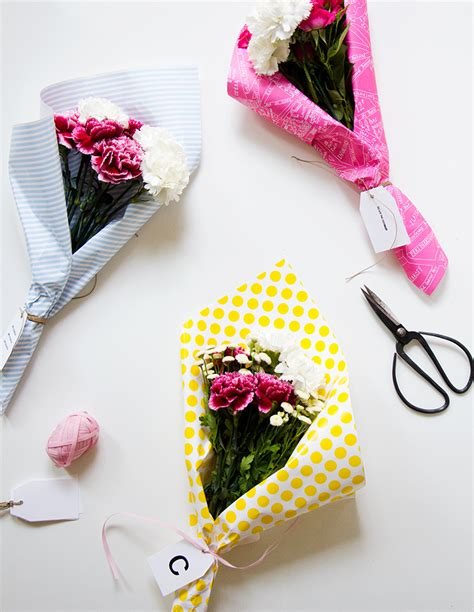 how to make an arrangement of flowers diy flower bouquet not your standard