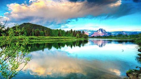 唯美好看的蓝色风景图片大全,高清图片,壁纸,自然风景-桌面城市