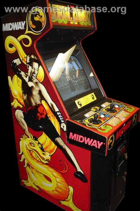Mortal Kombat Arcade Cabinet by Mortal Kombat Arcade Database