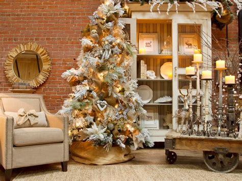 decoracion  navidad en color beige  dorado te