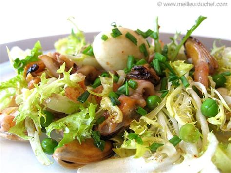 salade de fruits de mer la recette illustree