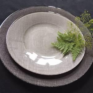 Assiette Plate Originale : assiette plate couleur taupe vaisselle chic et design bruno evrard ~ Teatrodelosmanantiales.com Idées de Décoration