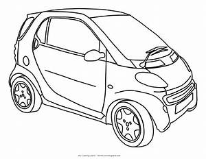 Cars my coloring land for Smart car convertible