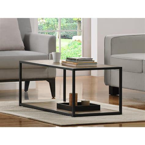 sonoma oak coffee table altra furniture canton sonoma oak coffee table 5070096pcom