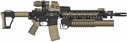 Assault Rifle Transparent Clipart M16 Weapons Purepng