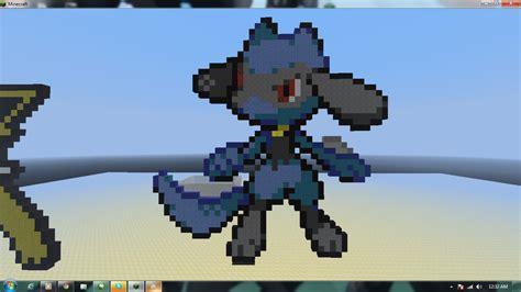 Riolu On Minecraft By Xxgreycloudxx On Deviantart