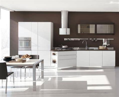 modern kitchen design  white cabinets bring
