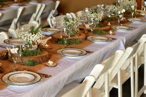Woodland Baby Shower Table Decorations