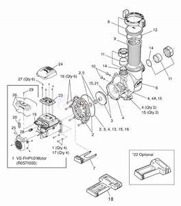 Jandy Flopro 1 65 Hp Vs Series Pump  2013 U2013present  Parts