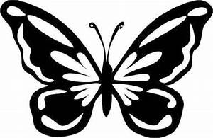 8 Best Images of Free Printable Butterfly Stencils For ...