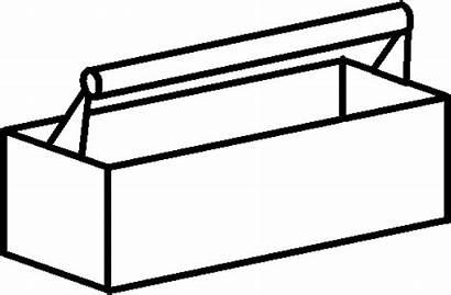 Tool Box Clip Toolbox Clipart Wooden Cliparts