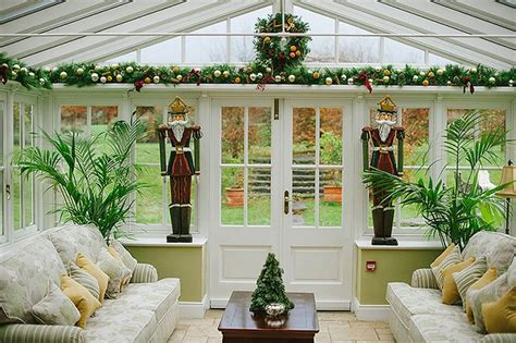 christmas decor   conservatory conservatory decor