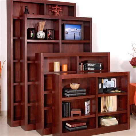 Bookshelves Cherry Wood Home Design